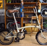 จักรยานพับ 3sixty สี Khaki