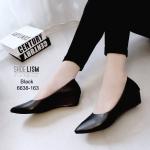 รองเท้าคัชชูดำ #คัชชูสุภาพ [สีดำ]