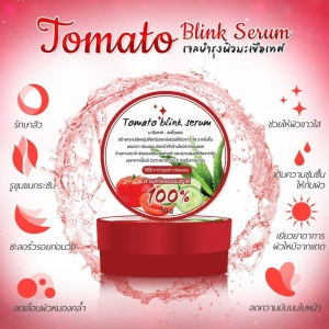 Tomato blink serum โทเมโท บริ้ง เซรั่ม เจลบำรุงผิวมะเขือเทศ ทาหน้า ทาตัว 2 IN 1