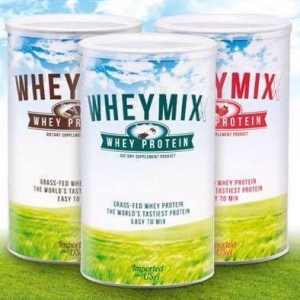 WHEYMIXX WHEY PROTEIN เวย์มิกซ์ เวย์โปรตีน รสอร่อย คุณภาพสูง วัตถุดิบธรรมชาติ ปราศจากฮอร์โมน