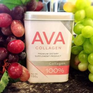 AVA COLLAGEN เอวา คอลลาเจน เพียวแท้ 100% ปลอดภัย มีอย. ไม่ผสมน้ำตาล ไม่อ้วน