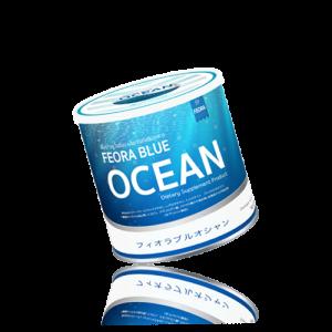 FEORA BLUE OCEAN ฟีโอร่า บลูโอเชี่ยน คอลลาเจน อร่อย เข้มข้นรสเบอรี่ ดื่มง่าย