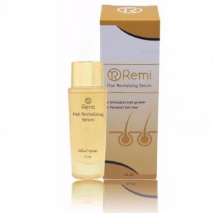 Remi Hair Revitalizing Serum เรมิ รีไวเทไลซิ่ง เซรั่ม บำรุงเส้นผม ลดผมร่วง เร่งผมยาว เร่งผมเกิดใหม่ ให้ผมดกหนาอย่างเป็นธรรมชาติ