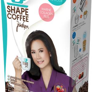 B SHAPE COFFEE by jintara บีเชฟ คอฟฟี่ บาย จินตหรา สูตรคอลลาเจน กล่องขาว โฉมใหม่