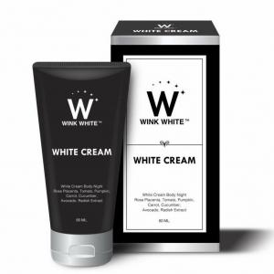 WINK WHITE WHITE CREAM วิงค์ ไวท์ ไวท์ ครีม สูตรใหม่ ขาวไวกว่าเดิม 5 เท่า