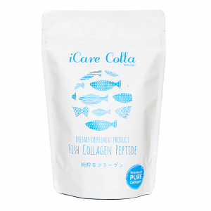 iCare Colla ไอแคร์ คอลล่า คอลลาเจน เปปไทด์ เพียว 100% คอลลาเจนที่ดีที่สุด จากญี่ปุ่น