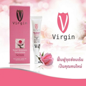 Virgin Total Moisture Nourishing Serum เวอร์จิ้น ฟิต กระชับ สำหรับช่วงเวลาพิเศษ ฟื้นฟูจุดซ่อนเร้น เป็นคุณคนใหม่