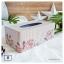 Tin Tissue Box กล่องทิชชู่ งานสังกะสี ขนาดใหญ่ thumbnail 7