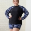 ชุดว่ายน้ำกัน uv เสื้อ +กางเกง 9xl รอบอก 50-60 รอบเอว 44-56 สะโพก 60-68 ตัวเสื้อยาว 30 กางเกงยาว 16 รอบวงแขน 22-32 นิ้วค่ะ ผ้าดี งานสวย มีฟองน้ำบังทรงค่ะ thumbnail 1