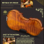 New Christina V08 Violin, High-end Professional Grading Musical instruments 4/4 Matt thumbnail 11