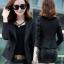 เสื้อสูทผู้หญิงใส่ทำงานแบบเรียบหรู มี 4 ไซส M/L/XL/2XL รหัส 1807-สีดำ thumbnail 1