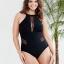 ชุดว่ายน้ำคนอ้วน 3xl สีดำ รอบอก 38-44 เอว 32-38 สะโพก 38-44 นิ้วค่ะ เนื้อผ้าดีงานสวยค่ะ thumbnail 1