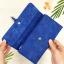 กระเป๋าสตางค์ผู้หญิง ทรงยาว รุ่น Table สีน้ำเงินเข้ม ใส่มือถือไอโฟน 6s พลัสได้ ส่งพร้อมกล่อง thumbnail 4