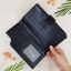 กระเป๋าสตางค์ผู้ชาย กระเป๋าสตางค์หนัง YATEBAO ทรงยาว สีดำ thumbnail 7