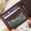 กระเป๋าสตางค์ผู้ชาย หนังแท้ 100% ทรงสั้น Leather Brown thumbnail 10