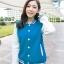 เสื้อคลุมแฟชั่น Classic stlye สวยปนเท่ห์สไตล์เกาหลี รหัส 1662-สีฟ้า thumbnail 1