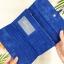 กระเป๋าสตางค์ผู้หญิง ทรงยาว รุ่น Table สีน้ำเงินเข้ม ใส่มือถือไอโฟน 6s พลัสได้ ส่งพร้อมกล่อง thumbnail 6