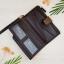 กระเป๋าสตางค์ผู้ชาย กระเป๋าสตางค์หนัง YATEBAO ทรงยาว สีน้ำตาล thumbnail 6