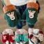 ถุงมือไหมพรมกันหนาว สำหรับเด็ก มี 6 สี