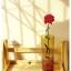 Glass Vase แจกันแก้วทรงกระบอก สีชา thumbnail 6