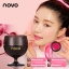 novo RED WINE LIPSTICK โนโว ลิปแก้วไวน์ 1 เซต 2 สี thumbnail 4