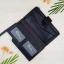 กระเป๋าสตางค์ผู้ชาย กระเป๋าสตางค์หนัง YATEBAO ทรงยาว สีดำ thumbnail 8