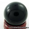 ▽ออบซิเดียน (Obsidian) ทรงบอล หินทรงกลม 2.9 cm