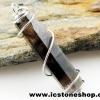 ▽จี้สโมกี้ควอตซ์สีเข้ม black smokey quartz (3.3g)