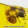 ▽อำพันโดมินิกัน มีแมลงภายใน Dominican Blue Amber ของแท้(4.73ct)