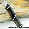 ▽จี้สโมกี้ควอตซ์สีเข้ม black smokey quartz (2.7g)