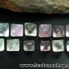 ▽หินฟลูออไรต์ (Fluorite) ธรรมชาติทรงพีระมิคคู่ 12 ชิ้น(33g)