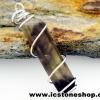 ▽จี้สโมกี้ควอตซ์สีเข้ม black smokey quartz (2.2g)