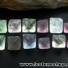 ▽หินฟลูออไรต์ (Fluorite) ธรรมชาติทรงพีระมิคคู่ 12 ชิ้น(28g)