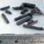 ▽ไหมแดง Red Rutile Needle Cryatal-Brazil (17ชิ้น)