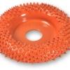 "Saburr Tooth Buzzout Wheel - Ex-Coarse Carbide Discs 50mm (2"") - จานขัดไม้คาร์ไบด์ชนิดหยาบมาก (Made in U.S. A.)"