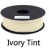 เส้นพลาสติค PLA สี IVORY TINT ขนาด 1.75 มม. ขนาด 1 กก. (1.75mm PLA filament-1kg.)