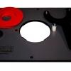 JessEm Rout-R-Plate Aluminum Router Table Insert Plate - แผ่นเพลทอลูมิเนียม ใช้ติดเร้าเตอร์กับโต๊ะเร้าเตอร์