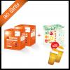 Nutroxsun 2 กล่อง + Fiberlax 1 กล่องฟรีแก้วเช็ค Verena 2 ใบ
