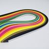 กระดาษสำหรับงานม้วนกระดาษ 5mm 26 สี รวม 260 เส้น (Quilling paper strips 5 mm 26 colors 260 strips)