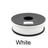 เส้นพลาสติค PLA สี WHITE ขนาด 1.75 มม. ขนาด 1 กก. (1.75mm PLA filament-1kg.)