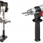 สว่านไฟฟ้า สว่านแท่น และอุปกรณ์ประกอบ (Power Drill, Drill Press and Accessories)