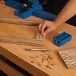 ชุดเจาะปลั๊กไม้อุดรูเจาะ ของจิ๊กเจาะเอียง (Pocket-Hole Plug Cutter)