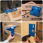 จิ๊กสำหรับติดตั้งอุปกรณ์ฮาร์ดแวร์งานไม้ (Hardware Installation Jigs)