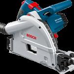 Bosch GKT55GCE Professional Track Saw - เลื่อยราง พร้อมราง 1.6 ม. และกล่อง L-Boxx (Made in Germany)*