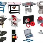 โต๊ะเร้าเตอร์ และอุปกรณ์ (Router Tables and Accessories)
