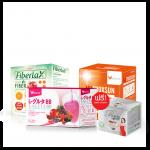 NUTROXSUN นูทรอกซ์ซัน 1 กล่อง + Fiberlax 1 กล่อง + L-Gluta BB 1 กล่อง ฟรี P-Prosrim Coffee Plus 1 กล่อง