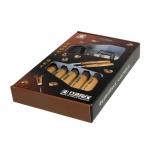 NAREX 894720 - Set of Carving Chisels 6pcs,, WOOD LINE STANDARD ชุดสิ่วสลักไม่รุ่นมาตรฐาน