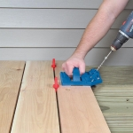จิ๊กติดตั้งพื้นระเบียงบ้าน (Deck Jig)