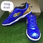 000P2 Pan รองเท้าฟุตซอล PAN 14K5 สีน้ำเงิน/ทอง