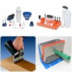 กาว ขวดบรรจุกาว และอุปกรณ์ (Glue, Glue Bottle Kit and Applicators)
